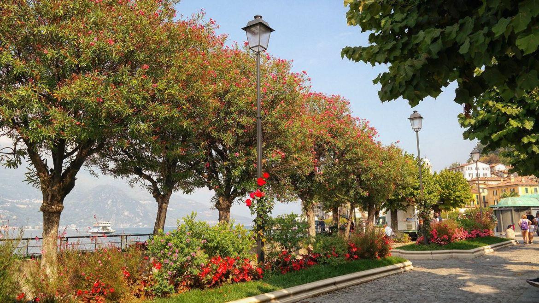 Promenada Bellagio Włochy