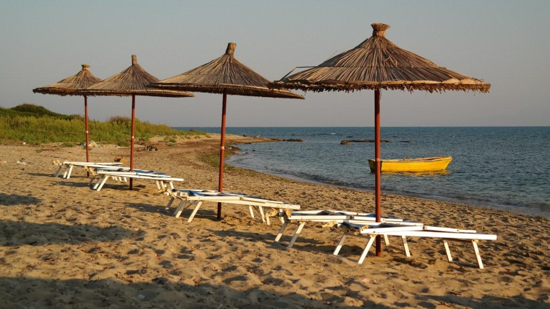 Wybrzeże Rodonit Albania Co zobaczyć w Albanii Plaża Cape Camp