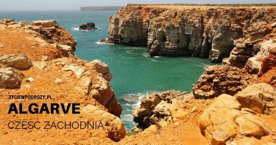 Algarve zachodnia Portugalia