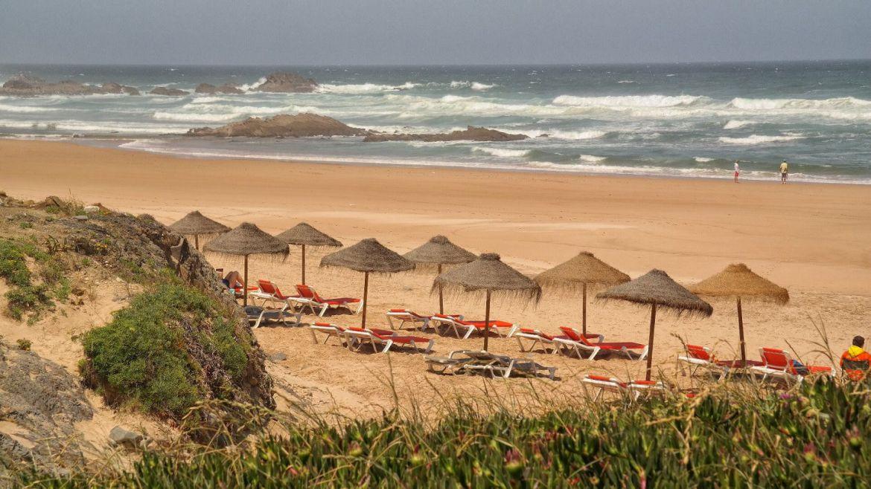 Praia do Castelejo Algarve zachodnie plaża Portugalia