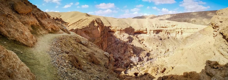 Czerwony Kanion Red Canion Okolice Eilatu Izrael co zobaczyć