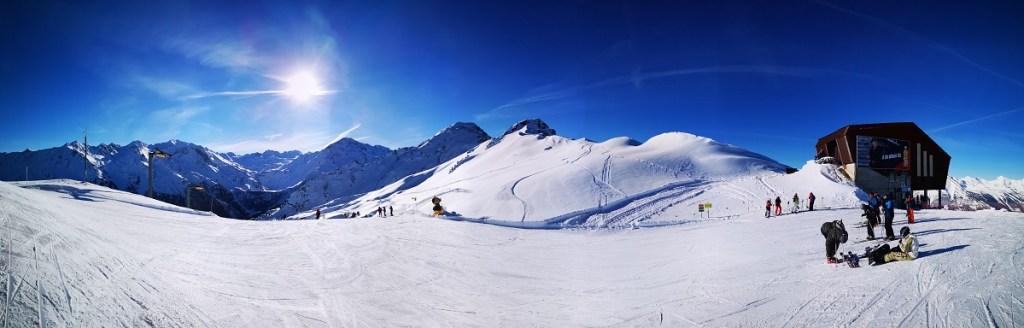 Nendaz 4 valles 4 doliny Szwajcaria narty panorama
