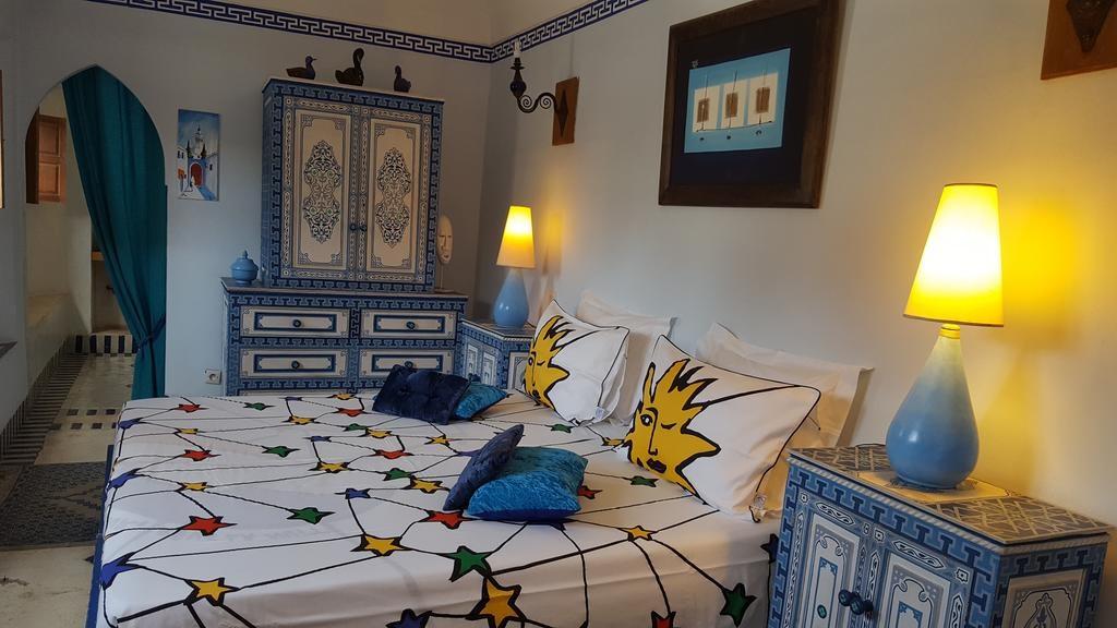 Riad Jenaï LAuthentique nocleg marakesz Marrakech maroko gdzie nocować medina pokój 2