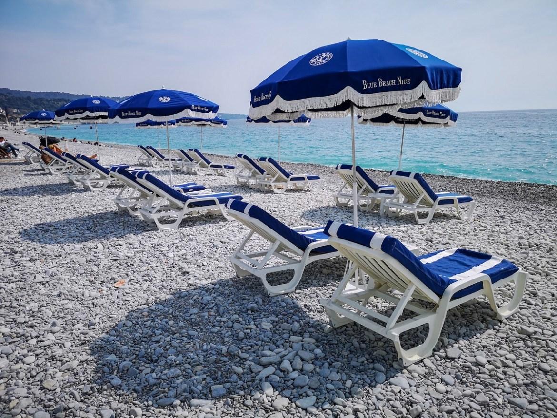 Nicea co zwiedzić i zobaczyć w nicei zwiedzanie Nicei aleja anglików plaża weekend blog blue beach nice