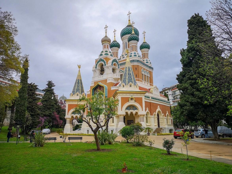 Nicea co zwiedzić i zobaczyć w nicei zwiedzanie Nicei sobór św. Mikołaja świątynie Nicea weekend blog