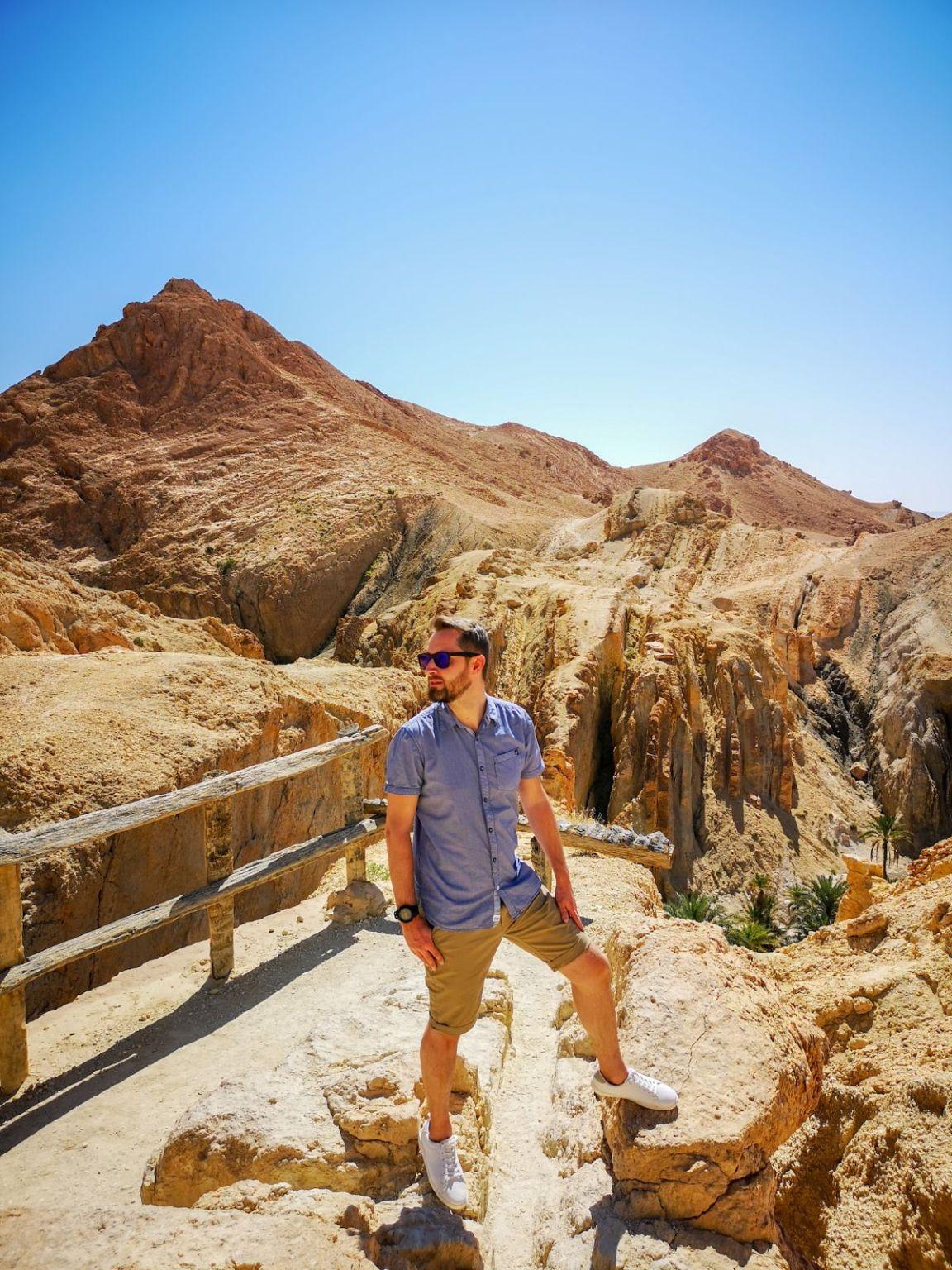 Oaza chebika szebika pustynia tunezja