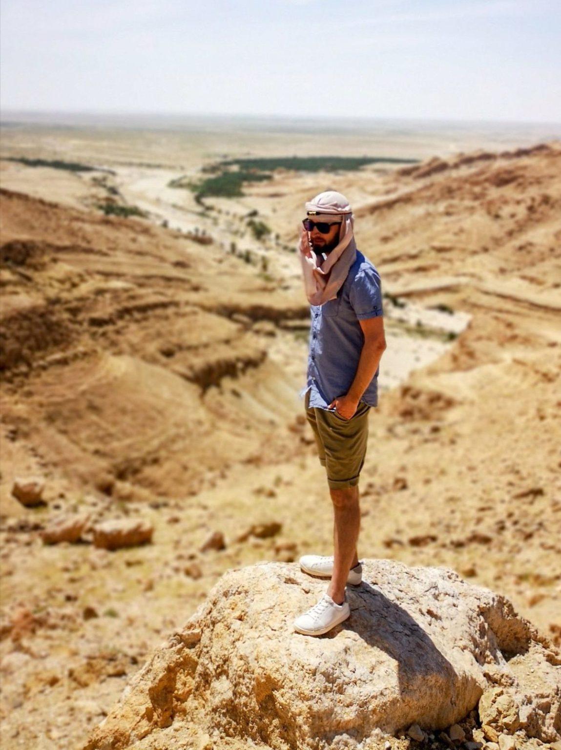 tunezja wąwóz co zwiedzić co zobaczyć pustynia
