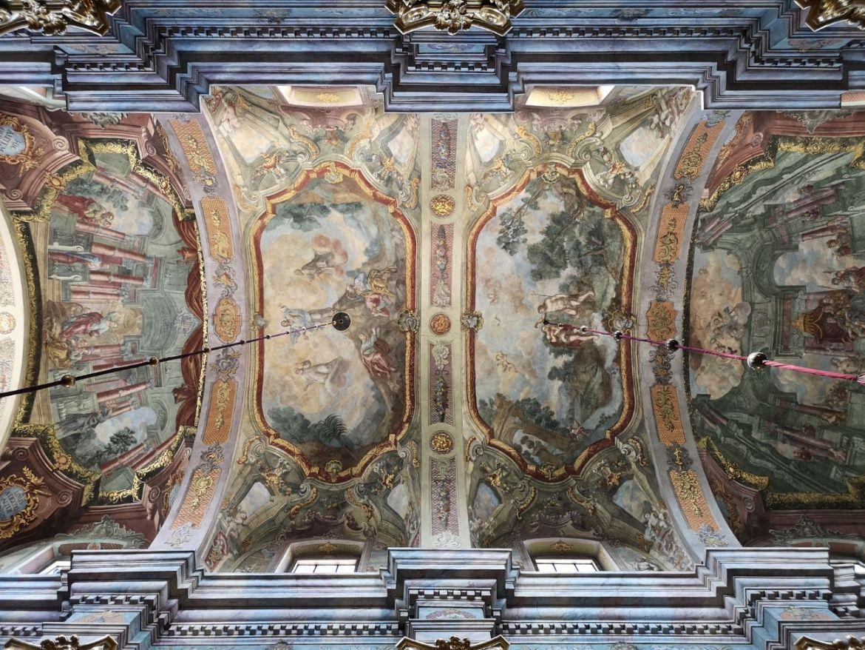 archikaterda lubelska sklepienie sufit freski malowidał