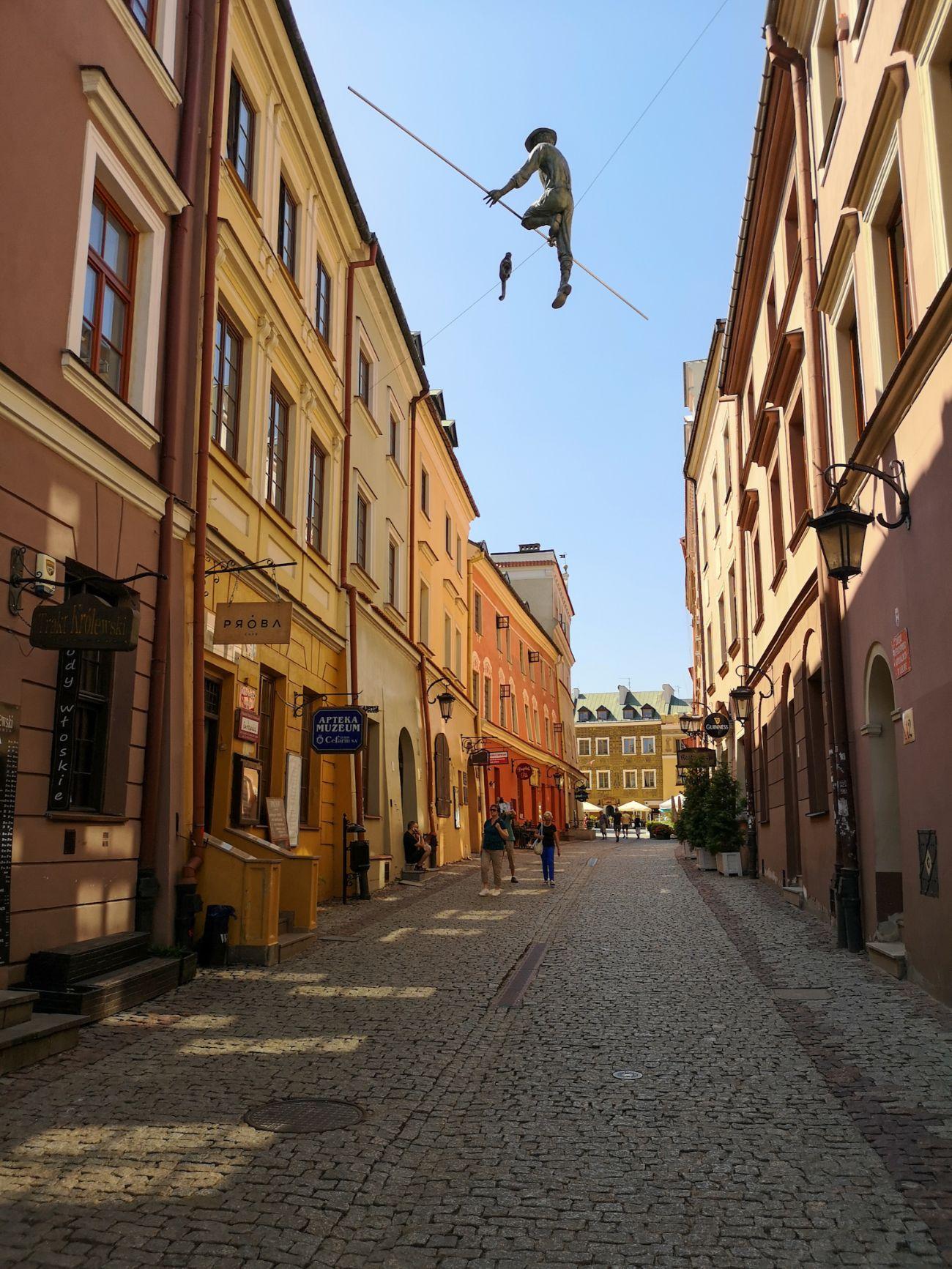 ulice starego miasta w lublinie co zwiedzić sztukmistrz z lublina