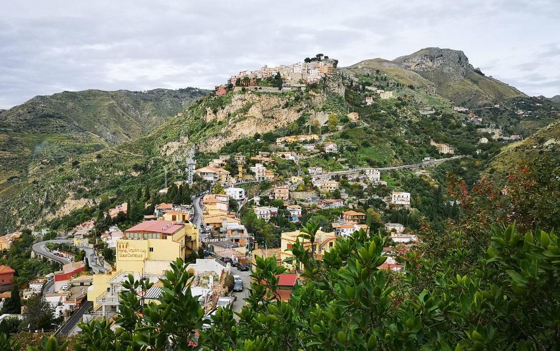 Castelmola sycylia taormina zwiedzanie co zobaczyć blog