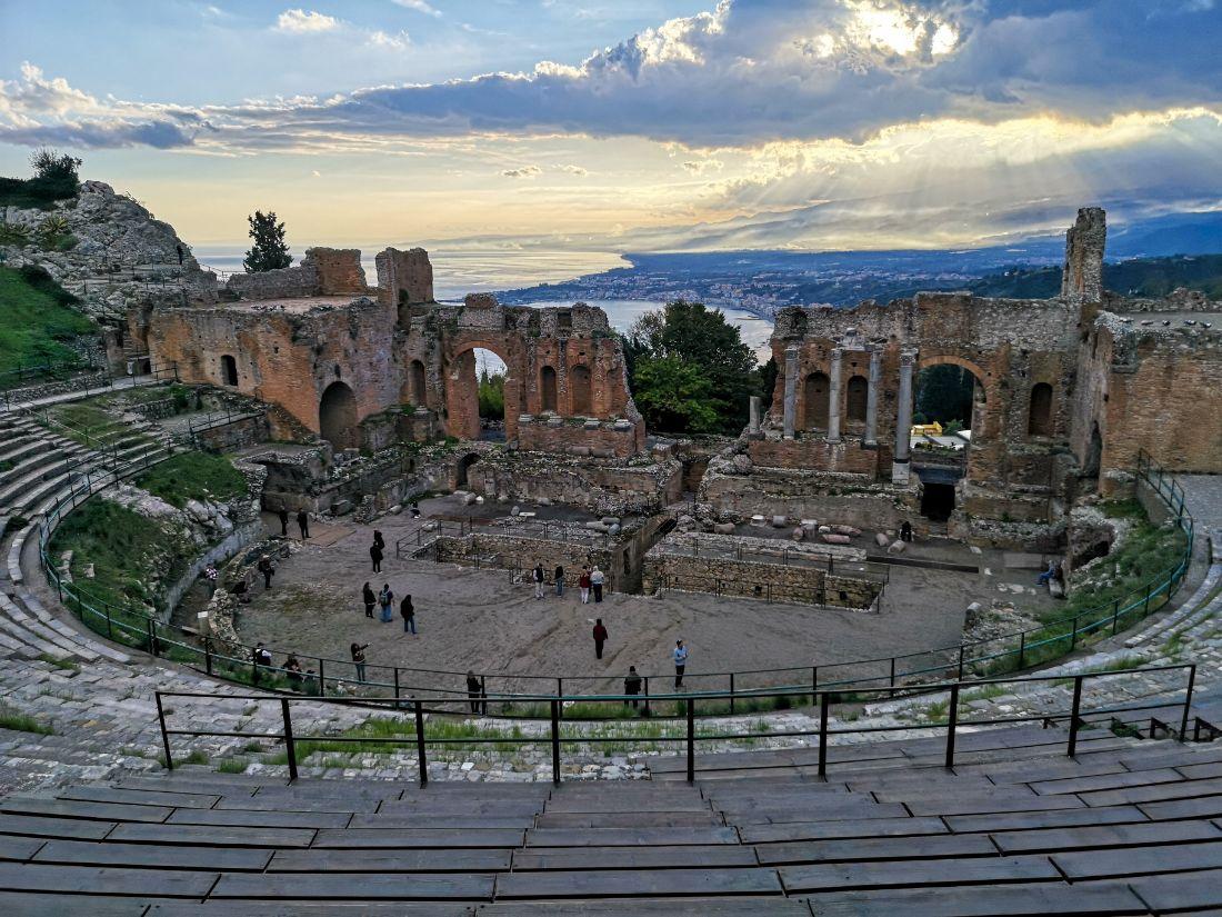 Teatro Antico taormina zwiedzanie