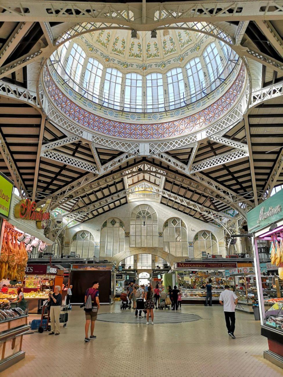 targ bazar hala targowa walencja