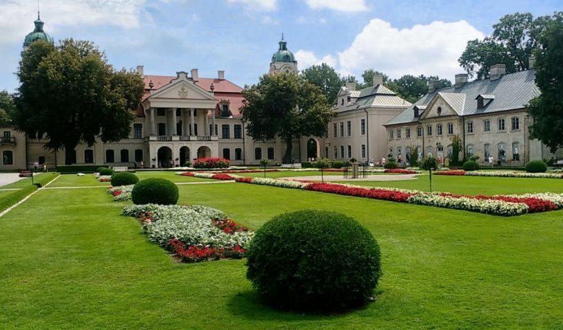kozłowka pałac zamoyskich lubelszczyzna