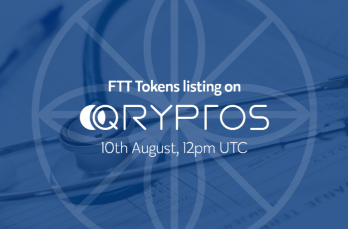 FarmaTrust FTT Token Gets Listed on Qryptos Cryptocurrency Exchange