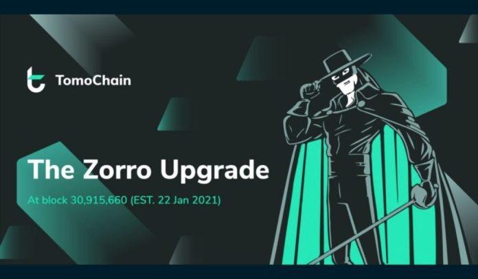 TomoChain Prepares for Major Zorro Network Upgrade