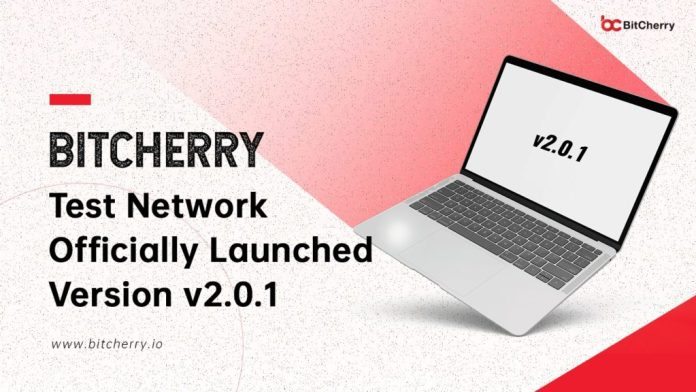 BitCherry Test Network Launches Version v2.0.1 Ahead of Mainnet Release