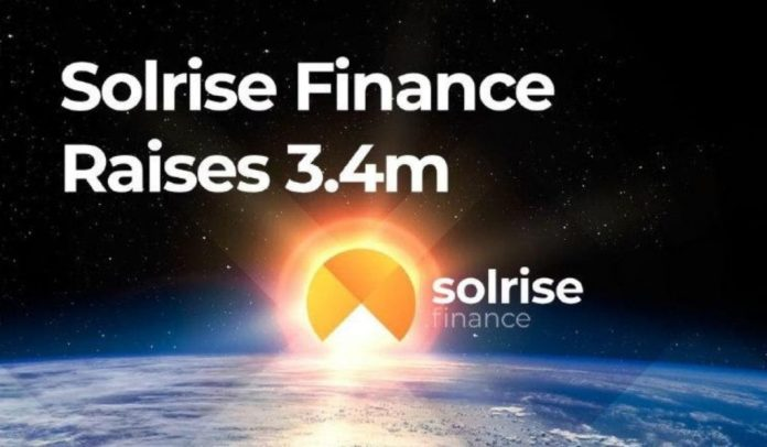 Solrise Finance Successfully Concludes $3.4 Million Funding Round