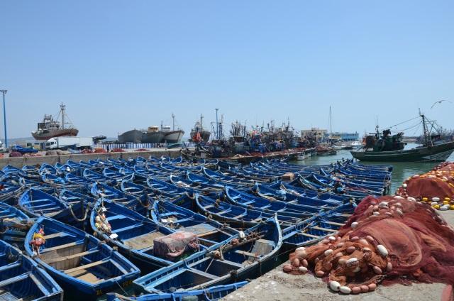 Essaoiura łodzie