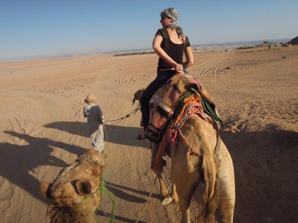 Wycieczka na wielbłądzie