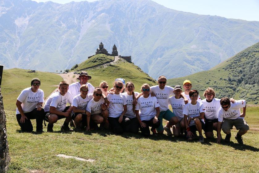 Ekipa pod Kazbekiem