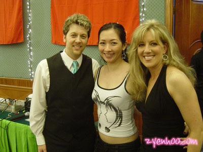 With Barry and Darri-Anne Amato