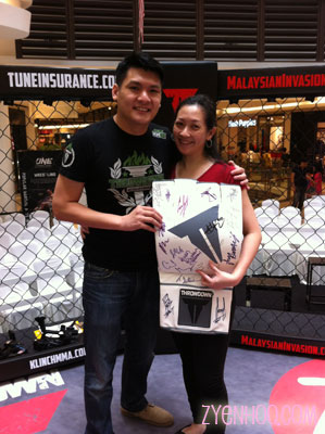 Me with Bax Yap, who was the one who called me to tell me about my win
