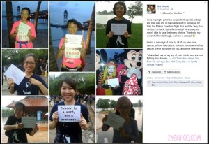 Ika's collage which she uploaded onto Facebook. Click to view!