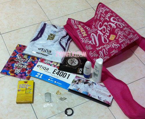What's in our race pack