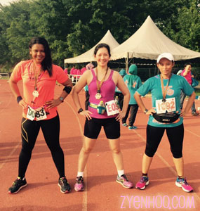 The strongwomen pose. Because we're very strong. Hehehe.