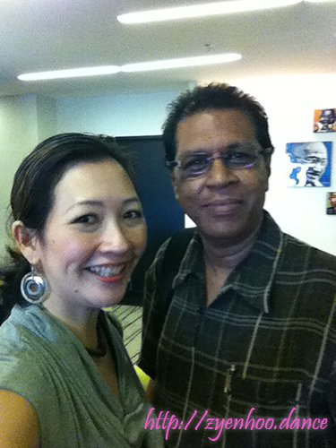 Me with Gopal Balakrishnan, one of the talented photographers of WBF