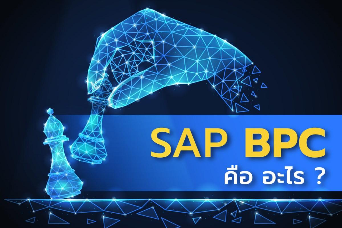 SAP BPC คืออะไร ? ทำไมองค์กรในยุคปัจจุบันถึงให้ความสำคัญมาก