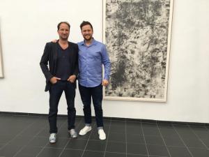 Klaus Mosettig und Lorris Andre Blazejewski