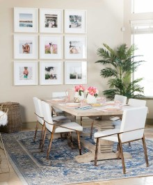 Adorable Family Dining Room Decorating Ideas 04