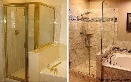 Adorable Master Bathroom Shower Remodel Ideas 10