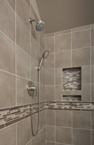 Adorable Master Bathroom Shower Remodel Ideas 45