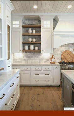 Adorable Rustic Farmhouse Kitchen Design Ideas 16