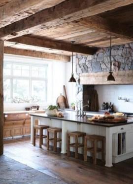 Adorable Rustic Farmhouse Kitchen Design Ideas 17