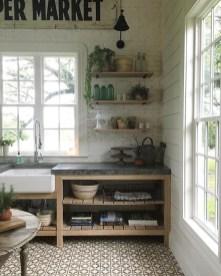 Adorable Rustic Farmhouse Kitchen Design Ideas 31