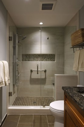 Beautiful Bathroom Shower Remodel Ideas 16