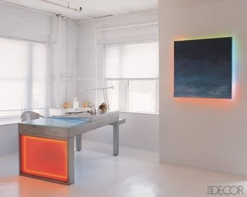 Cozy And Elegant Office Décor Ideas 03
