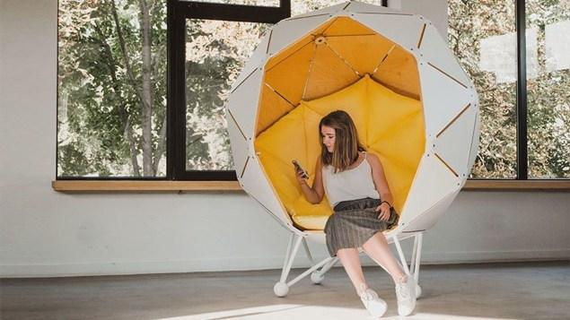 Cozy Ball Chair Design Ideas 43