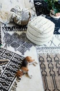 Cozy Bohemian Living Room Design Ideas 11