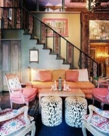 Cozy Bohemian Living Room Design Ideas 19