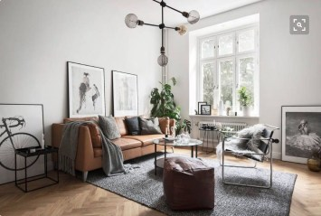Cozy Bohemian Living Room Design Ideas 30