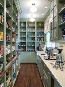 Cozy Kitchen Pantry Designs Ideas 22