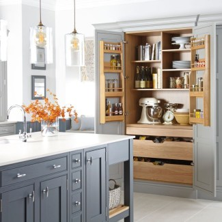 Cozy Kitchen Pantry Designs Ideas 25
