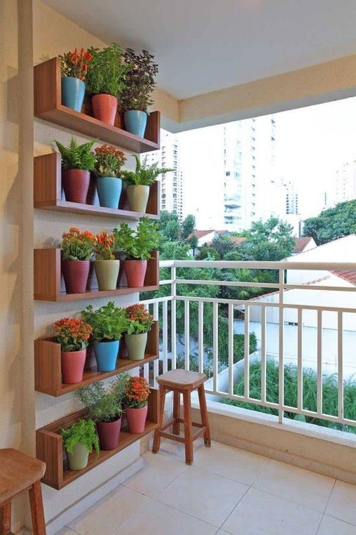 Creative Diy Small Apartment Balcony Garden Ideas 09