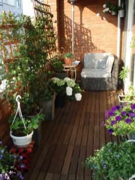 Creative Diy Small Apartment Balcony Garden Ideas 40