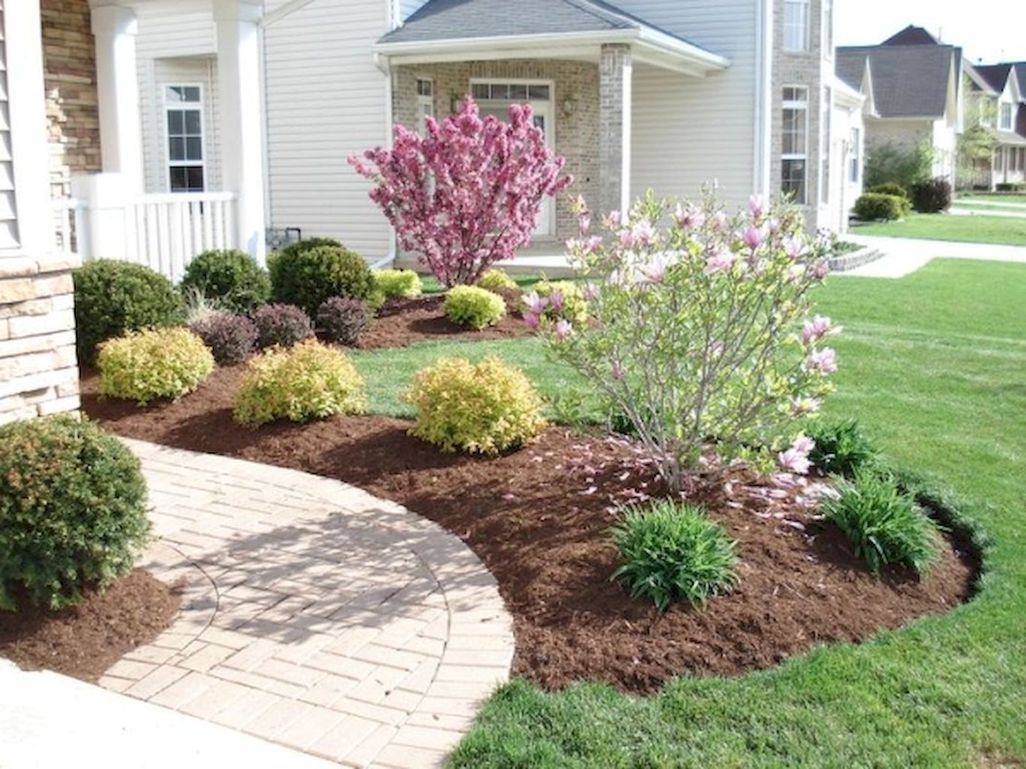 45 Easy And Low Maintenance Front Yard Landscaping Ideas ... on Low Maintenance Backyard  id=51602