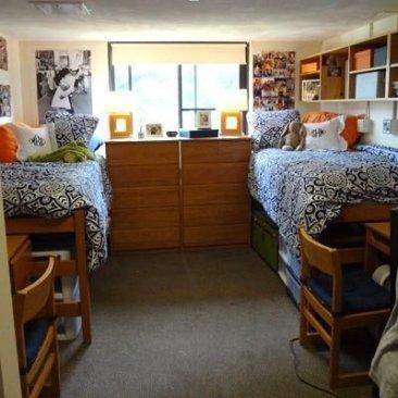 Efficient Dorm Room Organization Decor Ideas 06